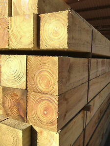 100x100mm Fence Post Treated